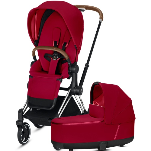 Коляска 2 в 1 CYBEX PRIAM III True Red