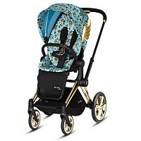 Коляска прогулочная CYBEX PRIAM Jeremy Scott Cherubs Blue Cherubs Blue
