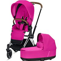 Коляска 2 в 1 CYBEX PRIAM III Fancy Pink
